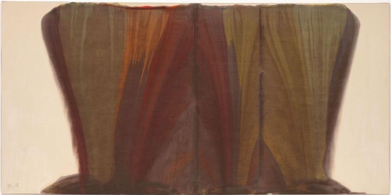 Morris Louis 1 Klasik Sanat Kanvas Tablo