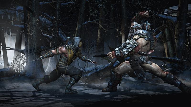 Mortal Combat Subzero Dövüş Popüler Kültür Kanvas Tablo