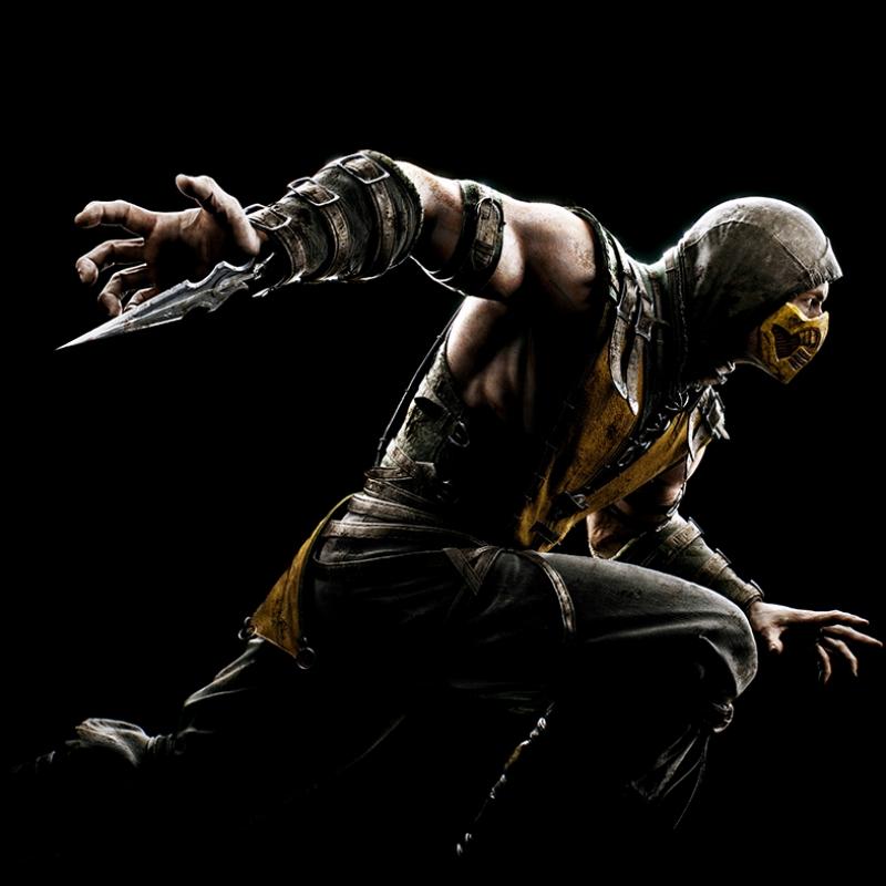 Mortal Combat Subzero Popüler Kültür Kanvas Tablo