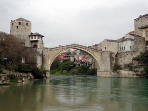 Mostar Köprüsü Bosna Hersek Unesco Dünya Kültür Mirasları Kanvas Tablo