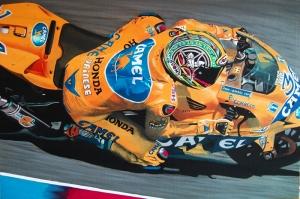 Moto GP Motorsikletler-4a Hız Motorları Kanvas Tablo