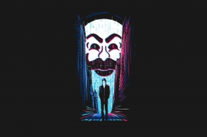 Mr. Robot Poster Kanvas Tablo