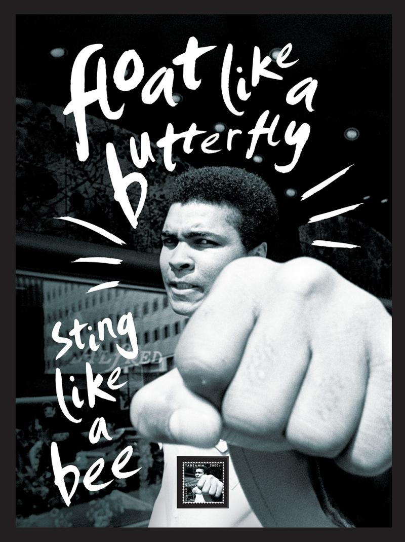 Muhammed Ali 2 Popüler Kültür Kanvas Tablo
