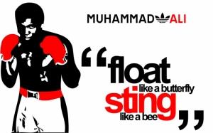 Muhammed Ali Poster Kanvas Tablo