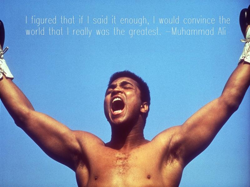 Muhammed Ali Söz Kanvas Tablo