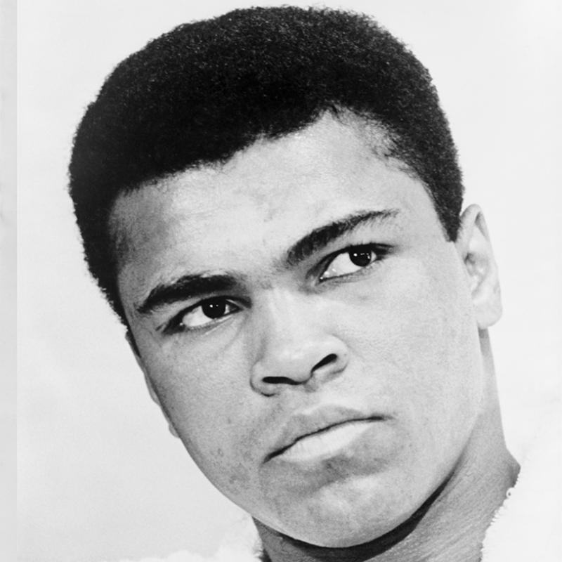 Muhammed Ali Ünlü Yüzler Kanvas Tablo 2