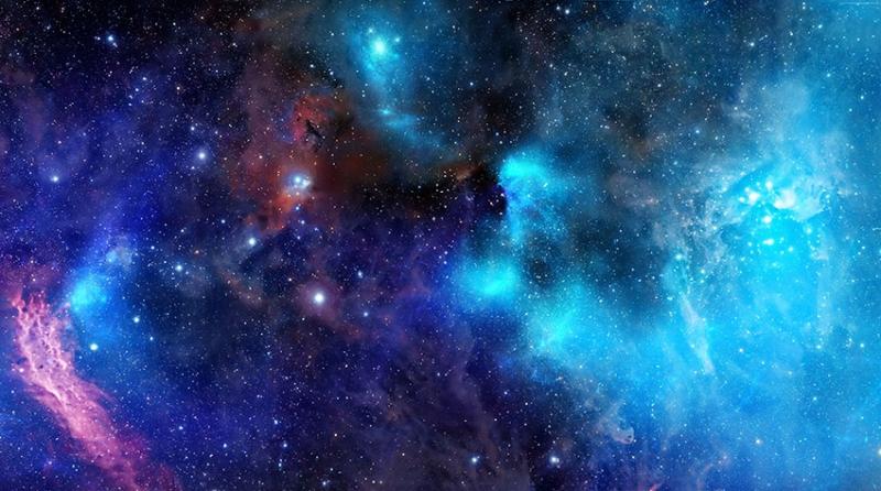 Muhteşem Evren Dünya & Uzay Kanvas Tablo