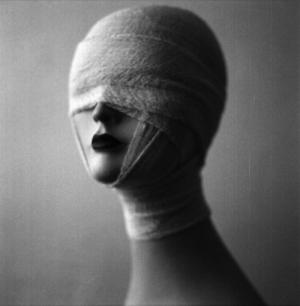 Mumya Kız Fotoğraf Kanvas Tablo