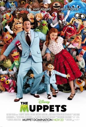 Muppets Show Afiş Kanvas Tablo