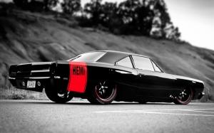 Muscle Hemi Amerikan Otomobil Araçlar Kanvas Tablo
