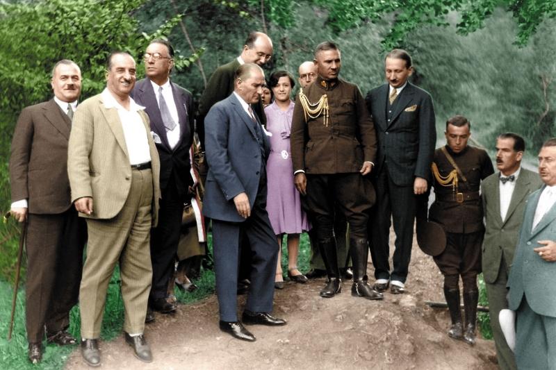 Mustafa Kemal Atatürk-11 Kanvas Tablo