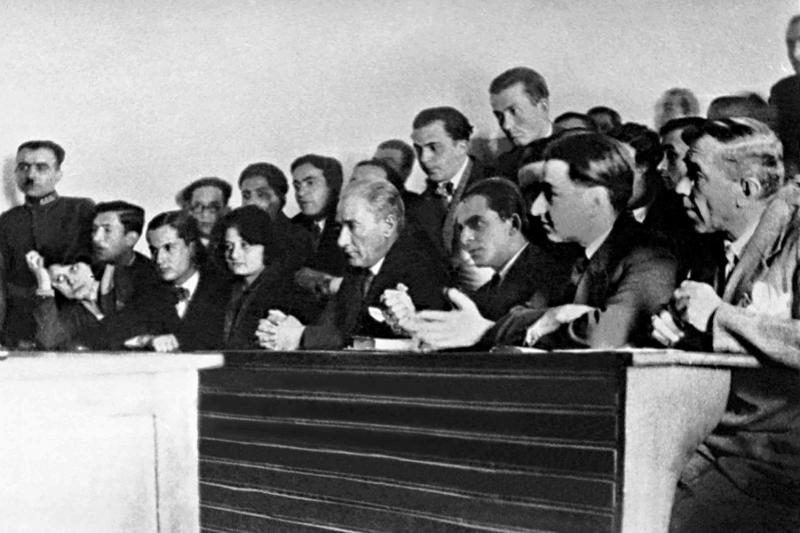 Mustafa Kemal Atatürk-14 Kanvas Tablo