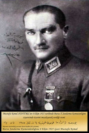 Mustafa Kemal Atatürk-18 Kanvas Tablo