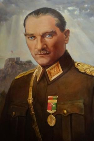 Mustafa Kemal Atatürk-20 Kanvas Tablo