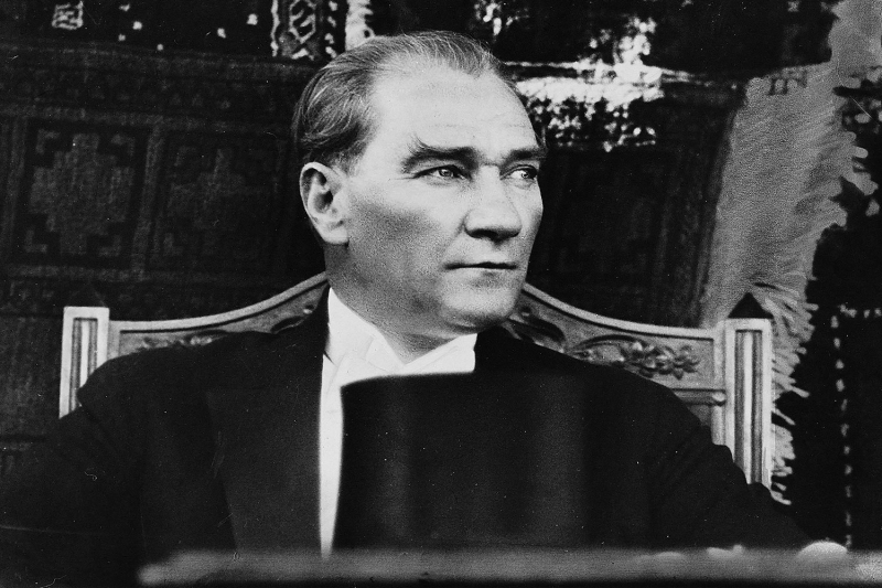 Mustafa Kemal Atatürk-21 Kanvas Tablo