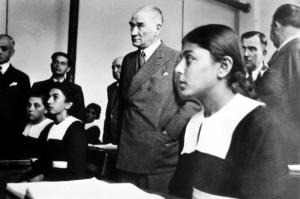 Mustafa Kemal Atatürk-3 Kanvas Tablo