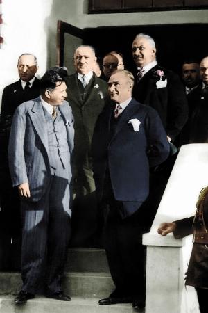 Mustafa Kemal Atatürk-6 Kanvas Tablo