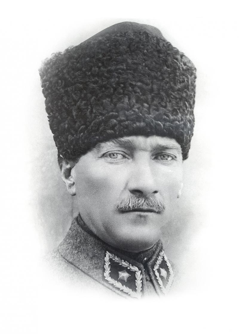 Mustafa Kemal Atatürk Portre-2 Kanvas Tablo