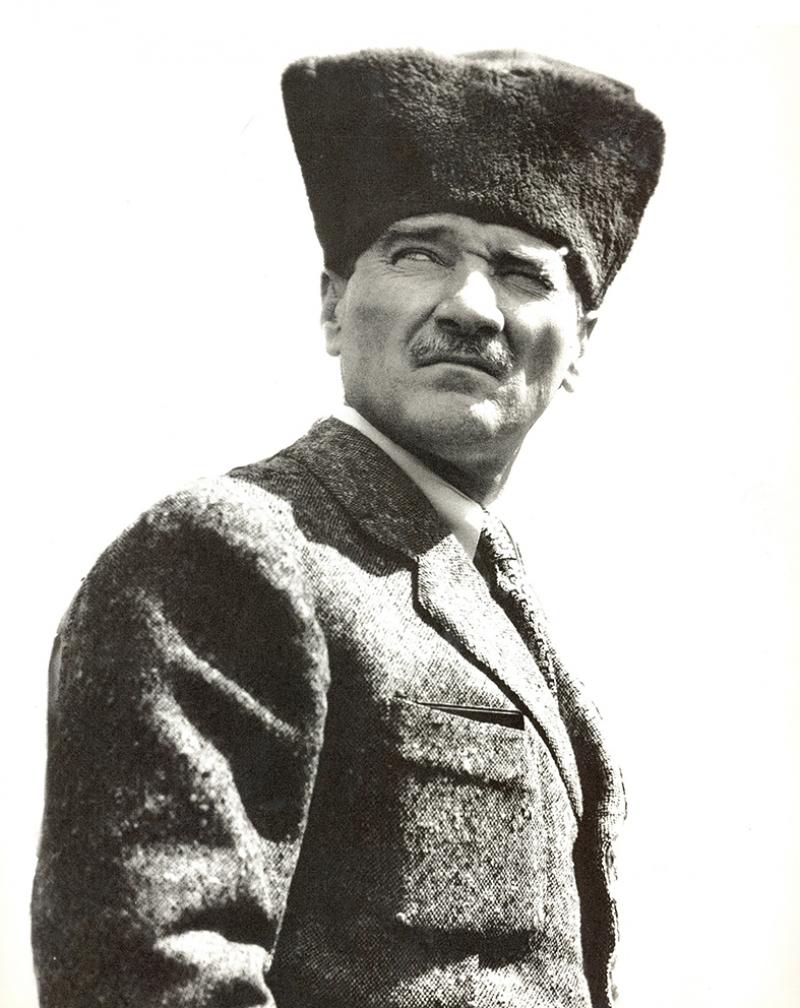 Mustafa Kemal Atatürk Portre-3 Kanvas Tablo