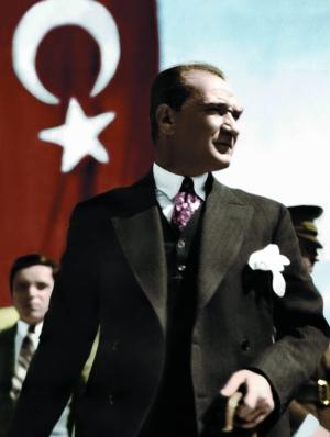 Mustafa Kemal Atatürk Portre-6 Kanvas Tablo