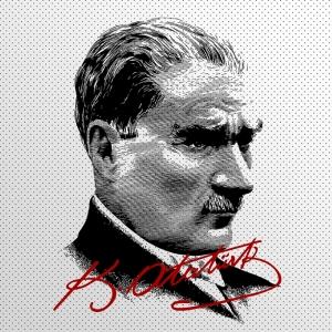 Mustafa Kemal Pop Atatürk Unique Kanvas Tablo 3