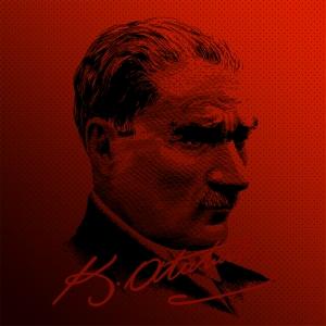 Mustafa Kemal Pop Atatürk Unique Kanvas Tablo 4
