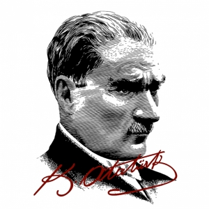 Mustafa Kemal Pop Atatürk Unique Kanvas Tablo 6
