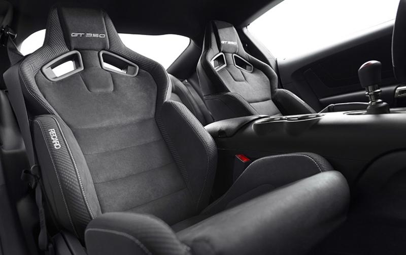 Mustang GT350 Recaro Koltuk Otomobil Araçlar Kanvas Tablo
