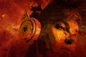 Müzik Fotoğraf Kanvas Tablo