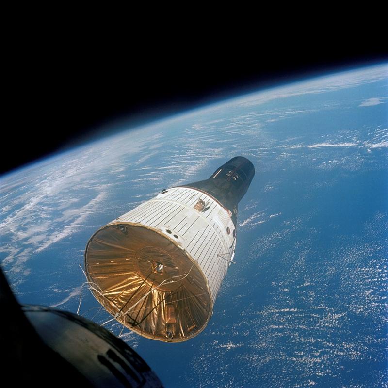 Nasa Kapsülü Dünya & Uzay Kanvas Tablo
