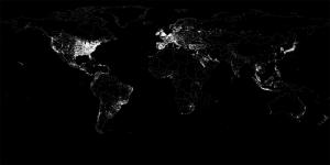 Nasanın Dünya Fotoğrafı Dünya & Uzay Kanvas Tablo