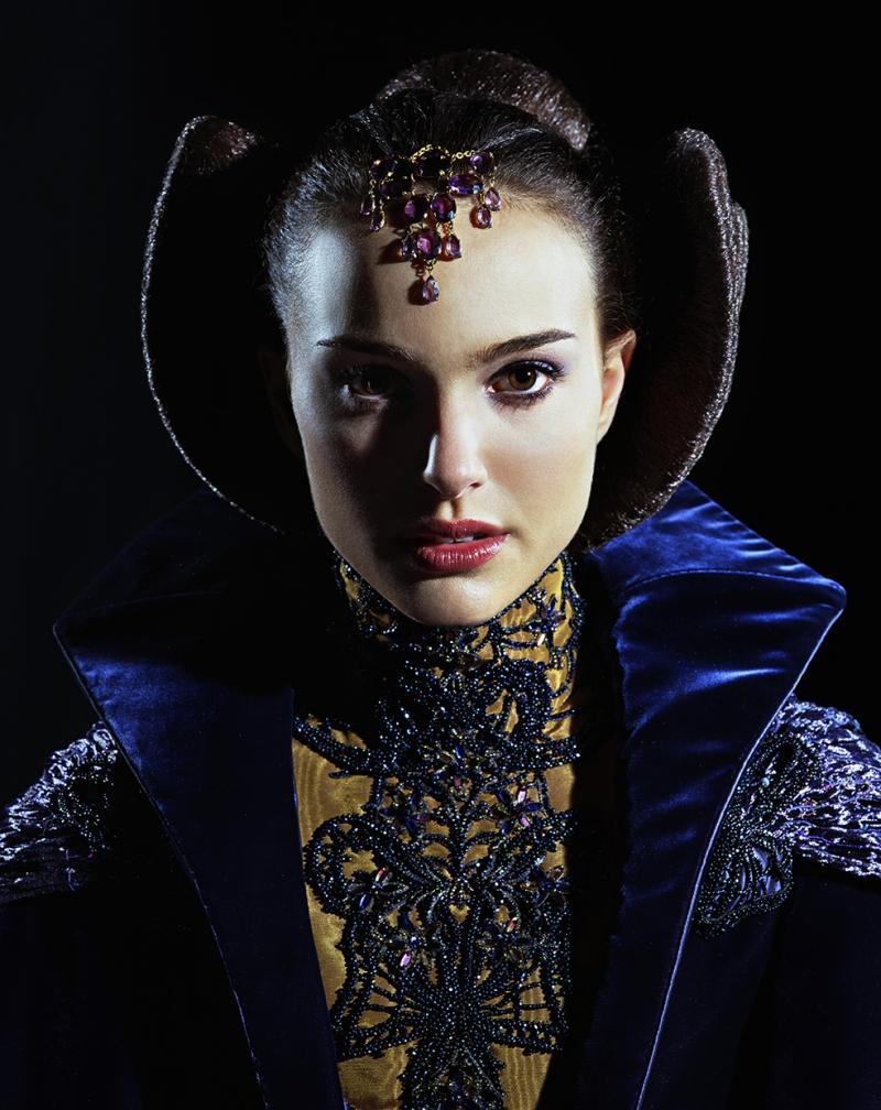 Natalie Portman Hayden Christensen Star Wars Ünlü Yüzler Kanvas Tablo