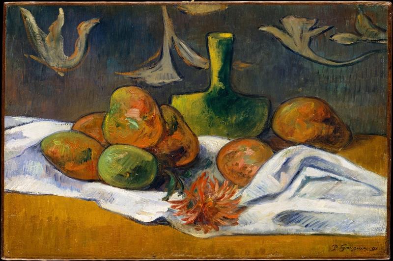 Naturmort 2 Paul Gauguin Reproduksiyon Kanvas Tablo