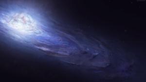 Nebula Uzay Yıldızlar Andromeda 1 Dünya & Uzay Kanvas Tablo