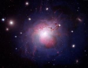 Nebula Uzay Yıldızlar Andromeda 7 Dünya & Uzay Kanvas Tablo