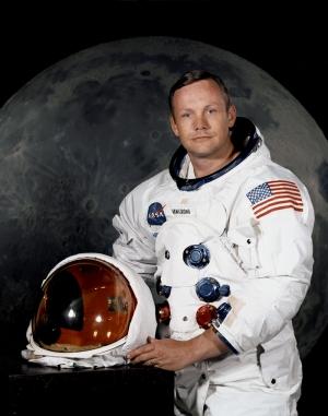 Neil Armstrong Ünlü Yüzler Kanvas Tablo