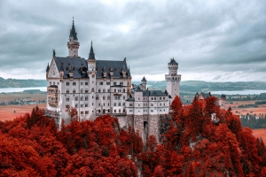 Neuschwanstein Satosu Kanvas Tablo