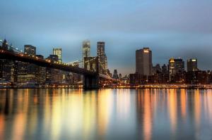 New York 2 Dünyaca Ünlü Şehirler Kanvas Tablo