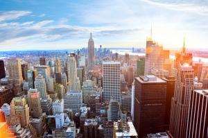 New York 5 Dünyaca Ünlü Şehirler Kanvas Tablo