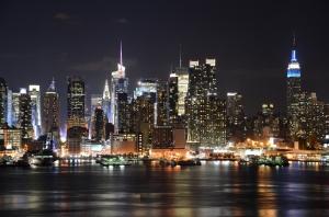 New York Dünyaca Ünlü Şehirler Kanvas Tablo