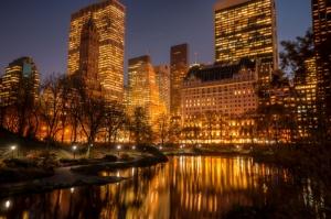 Newyork Şehir Manzarası Gökdelenler-2 Dünyaca Ünlü Şehirler Kanvas Tablo