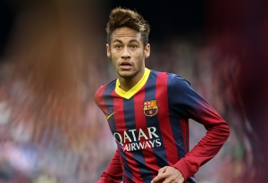 Neymar Barcelona Spor Kanvas Tablo