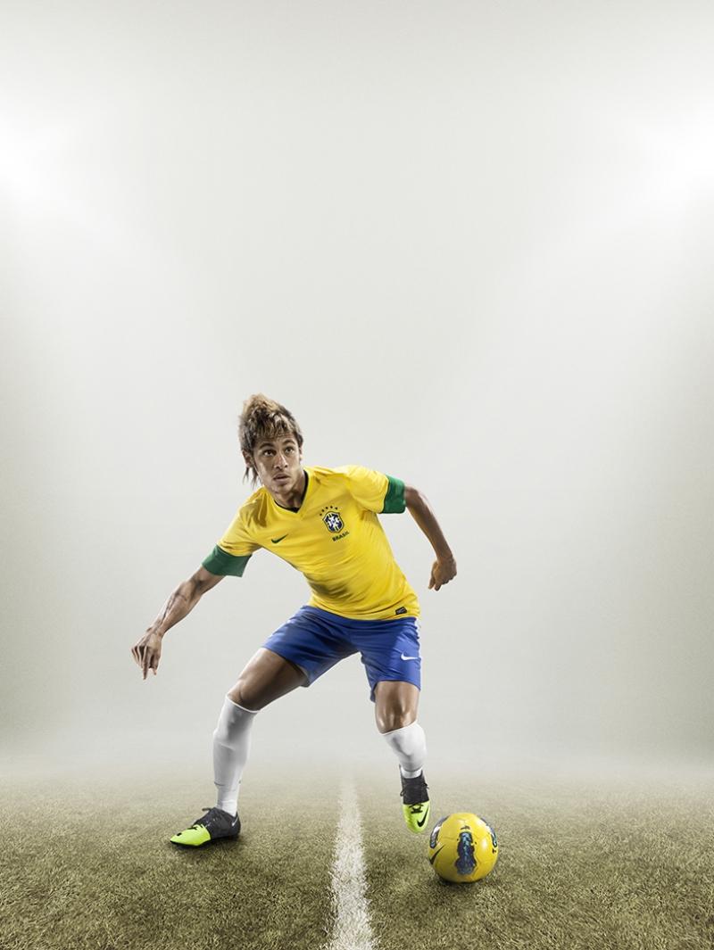 Neymar Brezilya Kanvas Tablo