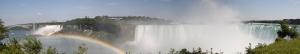 Niagara Şelalesi Panaromik Kanvas Tablo