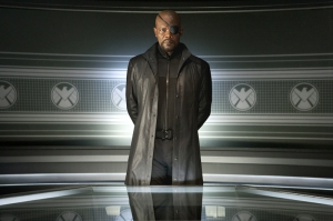 Nick Fury Marvel Süper Kahramanlar Popüler Kültür Kanvas Tablo
