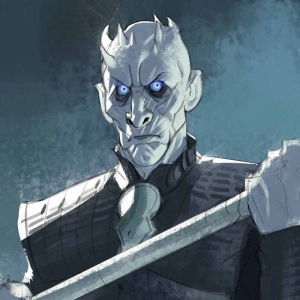 Night King Game Of Thrones Anime Kanvas Tablo