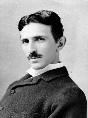 Nikola Tesla Ünlü Yüzler Kanvas Tablo