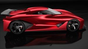 Nissan 2020 Vision Gran Turismo Konsept Otomobil Araçlar Kanvas Tablo