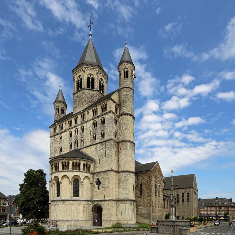 Nivelles Sainte Gertrude Kilisesi Belçika Dini İnanç Kanvas Tablo