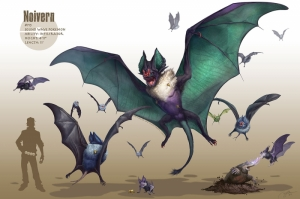 Noivern Pokemon Karakterleri Kanvas Tablo